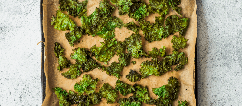 The Best Dried Kale Chips