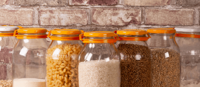 How to Store Dehydrated Food in Mason Jars